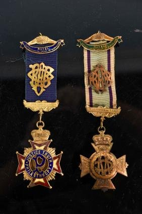ROYAL ANTEDILUVIAN ORDER OF BUFFALOES MEDALS
