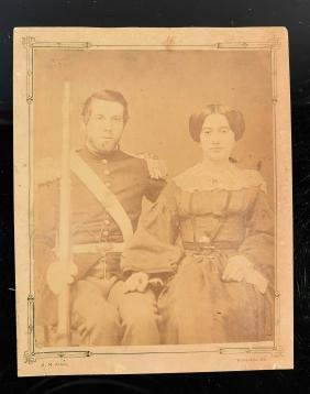 ANTIQUE CIVIL WAR SOLDIER PHOTO