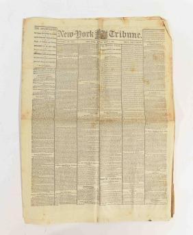 MAY 8 1865 NEW YORK TRIBUNE NEWSPAPER