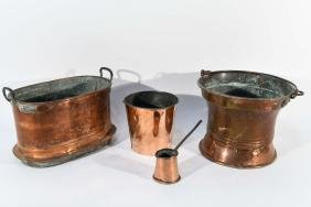 GROUPING OF COPPERWARE