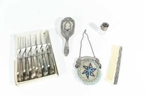GROUPING INCL. STERLING SILVER