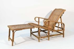 BAMBOO AND WICKER LOUNGE