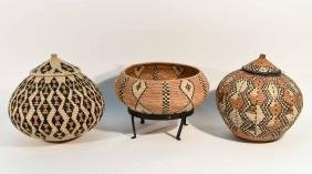 GROUPING OF ZULU BASKETS