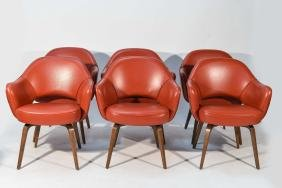 (6) SAARINEN KNOLL EXECUTIVE ARMCHAIRS