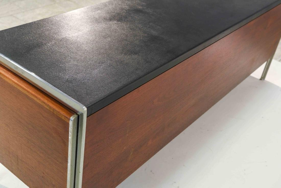 STOW & DAVIS LEATHER TOP CREDENZA - 11