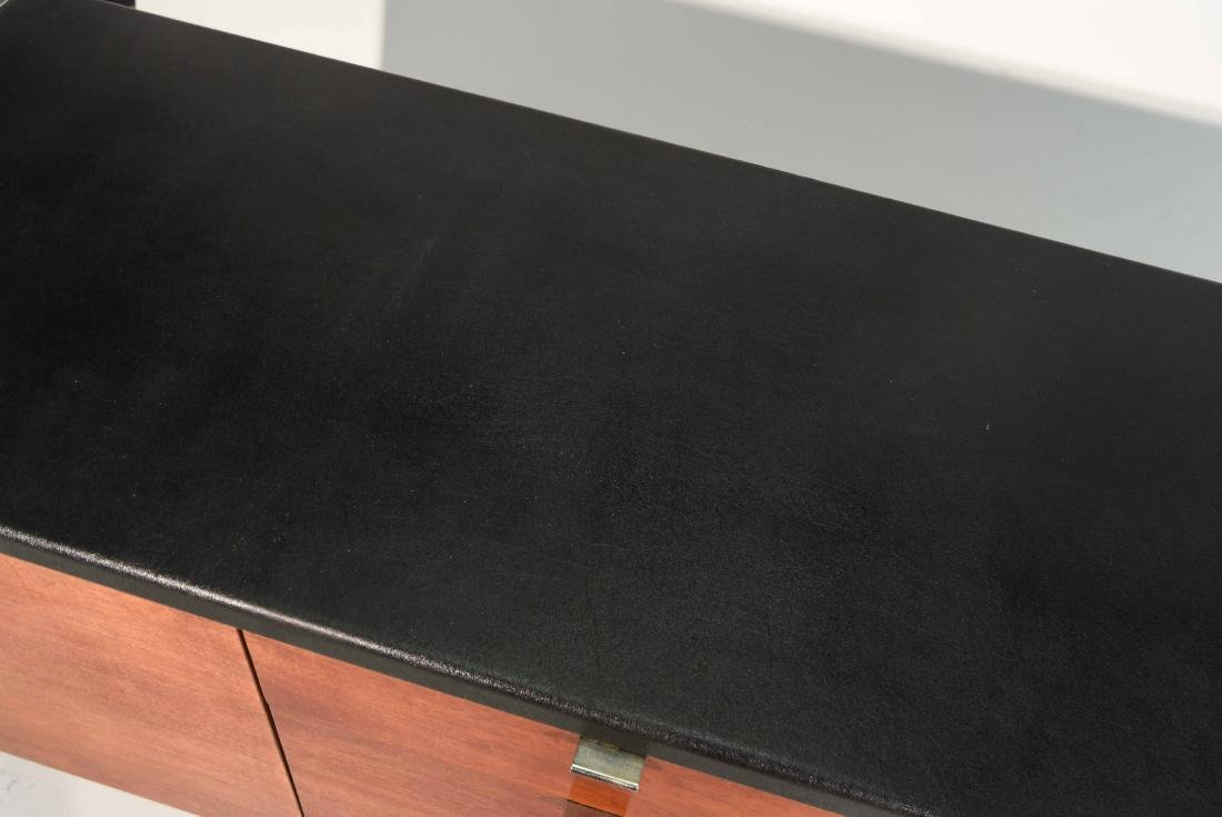 STOW & DAVIS LEATHER TOP CREDENZA - 3