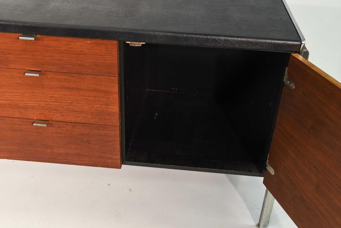 STOW & DAVIS LEATHER TOP CREDENZA - 5