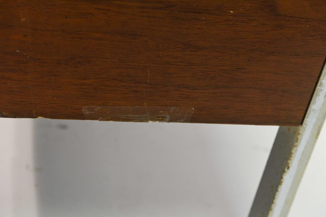 STOW & DAVIS LEATHER TOP CREDENZA - 9