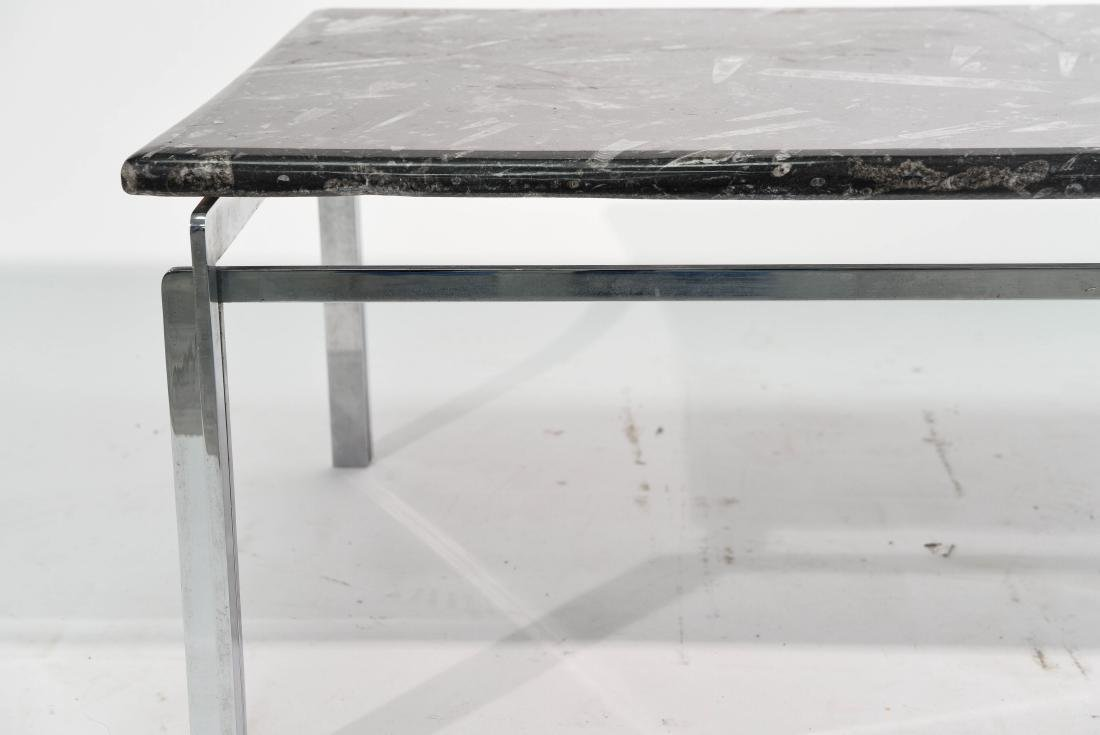 MID CENTURY MODERN CHROME TABLE GROUPING - 5