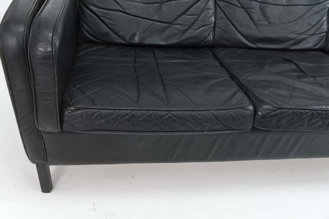 BORGE MOGENSEN STYLE THREE SEAT SOFA BY STOUBY - 9