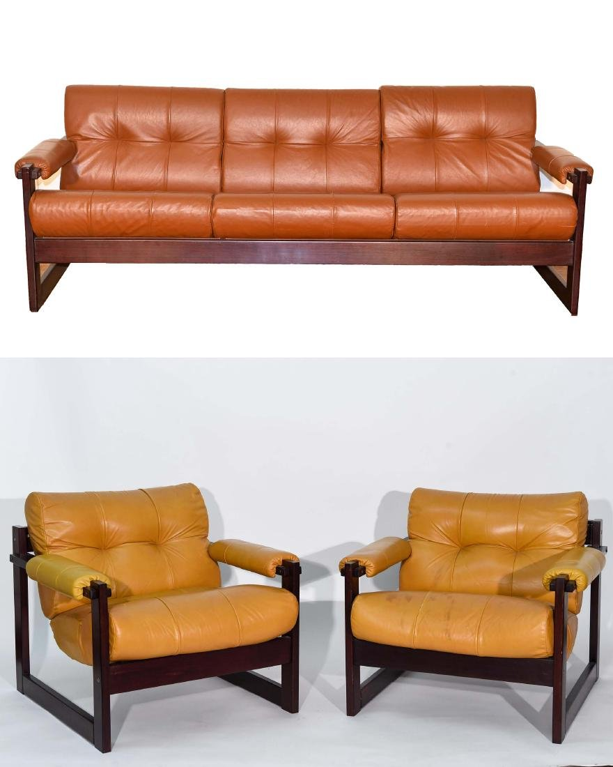 PERCIVAL LAFER SOFA & CHAIRS