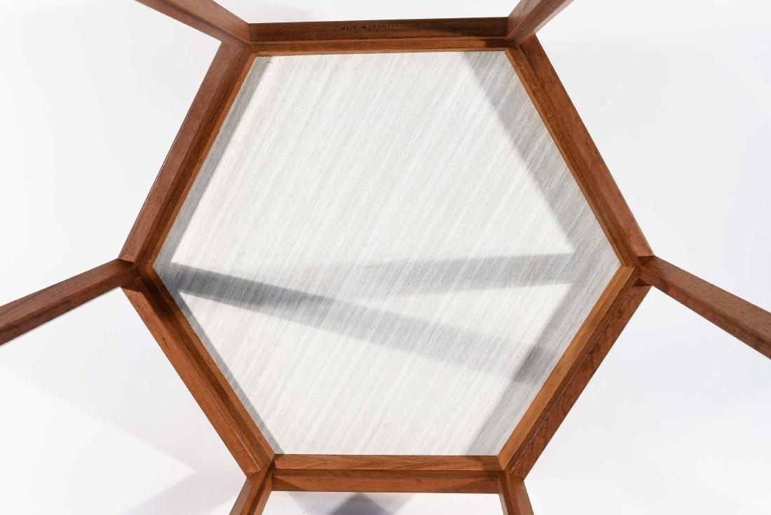 HANS ANDERSEN HEXAGONAL SIDE TABLE - 8