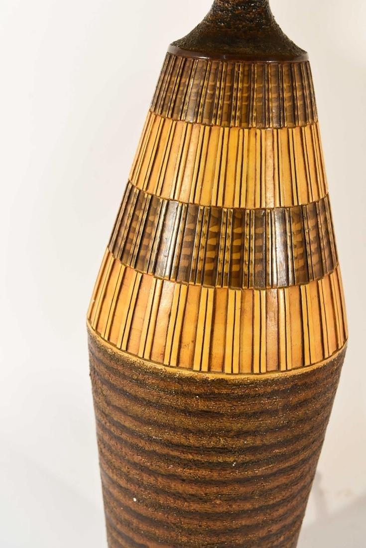 PAIR OF DANISH PLASTER TABLE LAMPS - 4