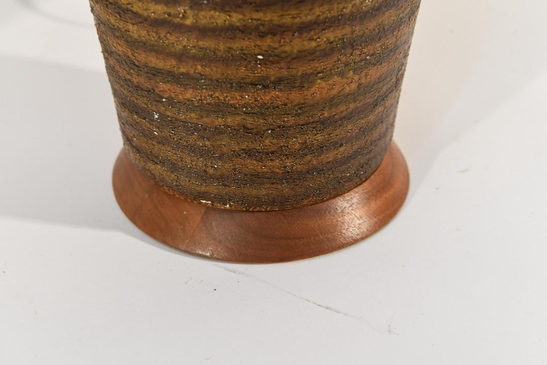 PAIR OF DANISH PLASTER TABLE LAMPS - 6