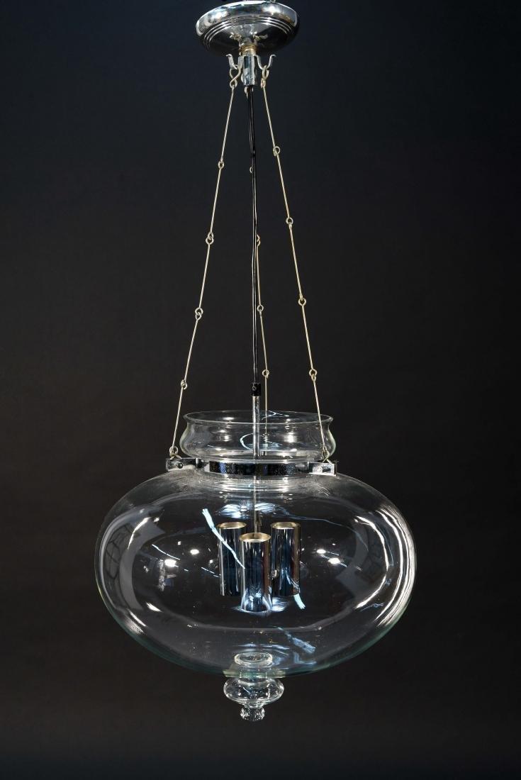 DANISH GLASS PENDANT CHANDELIER