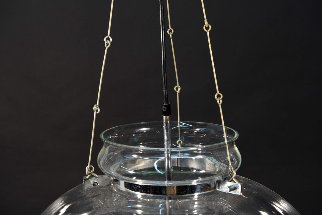 DANISH GLASS PENDANT CHANDELIER - 5