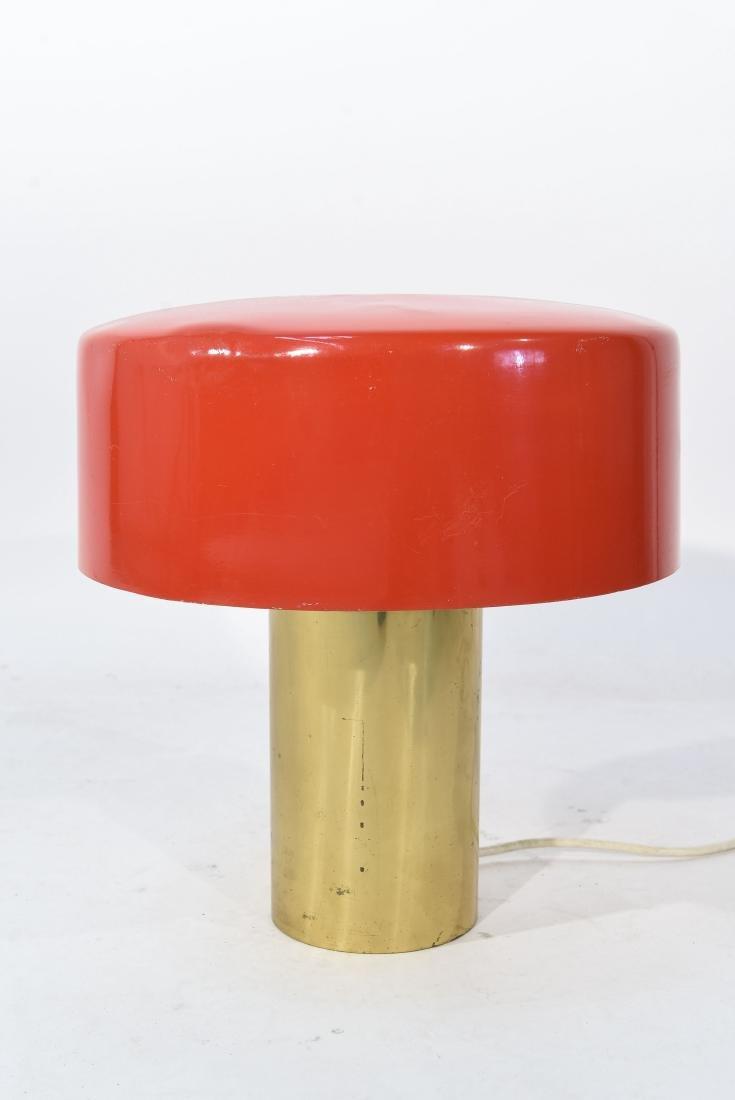 GUISEPPE OSTUNI ITALIAN ENAMEL SHADE TABLE LAMP