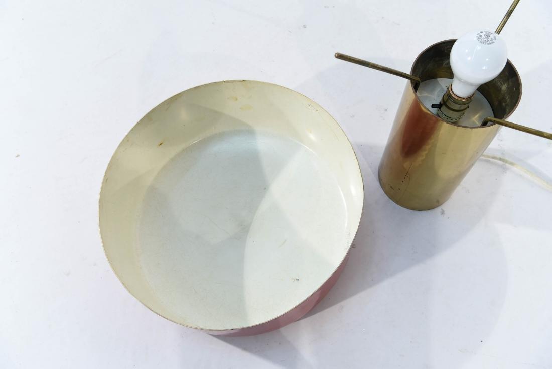 GUISEPPE OSTUNI ITALIAN ENAMEL SHADE TABLE LAMP - 6