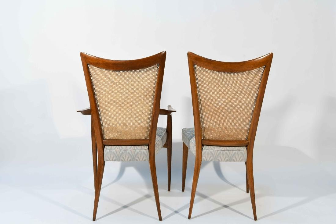 (6) ERNO FABRY DINING CHAIRS - 9
