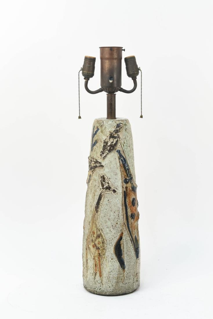 MID-CENTURY GAMBONE STYLE TABLE LAMP