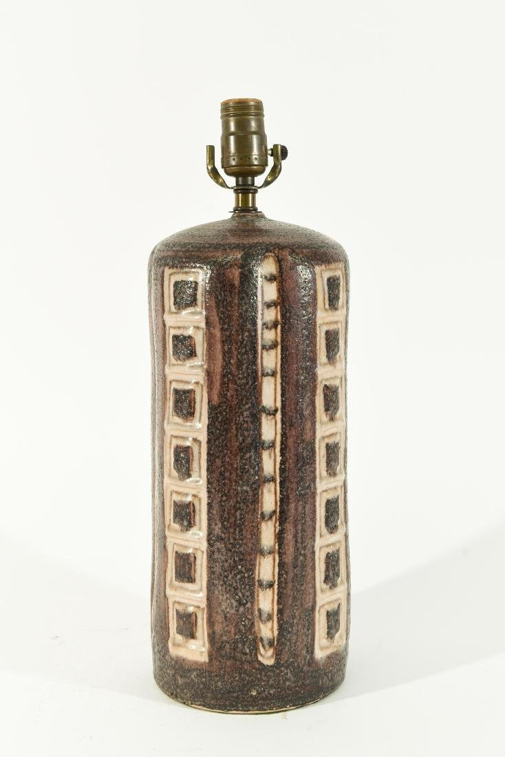 GUIDO GAMBONE ITALIAN CERAMIC TABLE LAMP