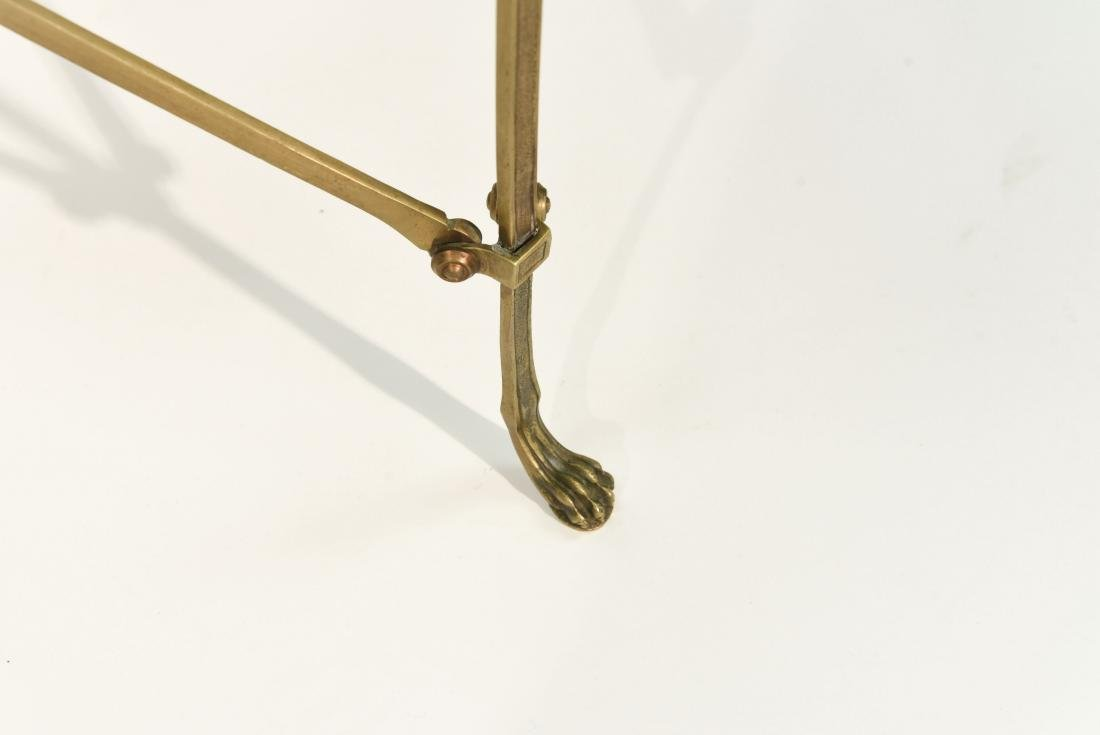 CLASSICAL STYLE MARBLE AND BRONZE SIDE TABLES - 11