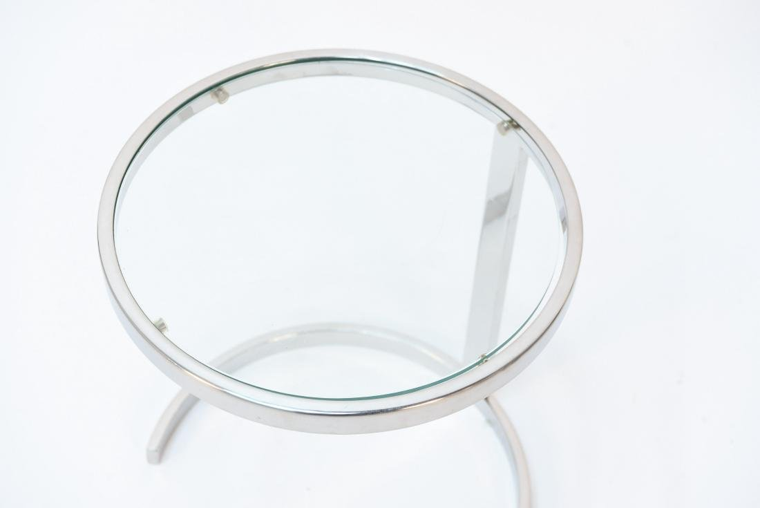 SMALL CHROME SIDE TABLE PACE STYLE - 2