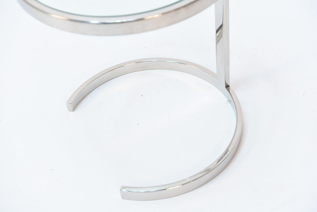 SMALL CHROME SIDE TABLE PACE STYLE - 3