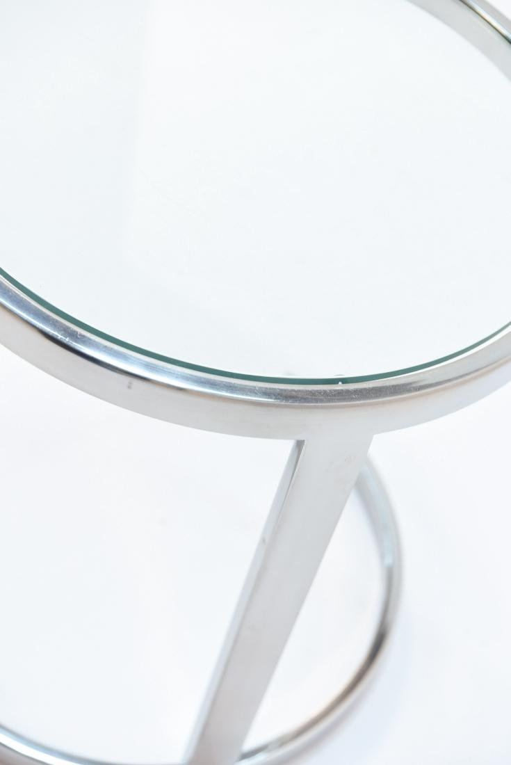 SMALL CHROME SIDE TABLE PACE STYLE - 4