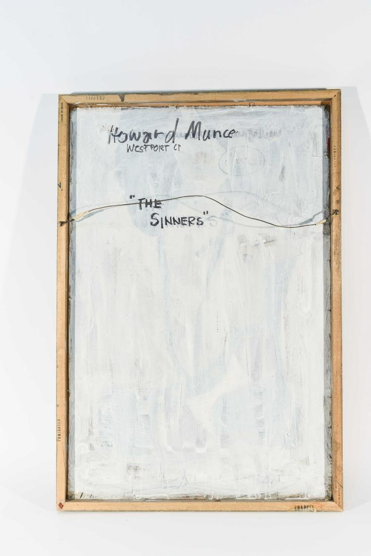 HOWARD MUNCE (AMERICAN 1915- 2015) O/C - 9