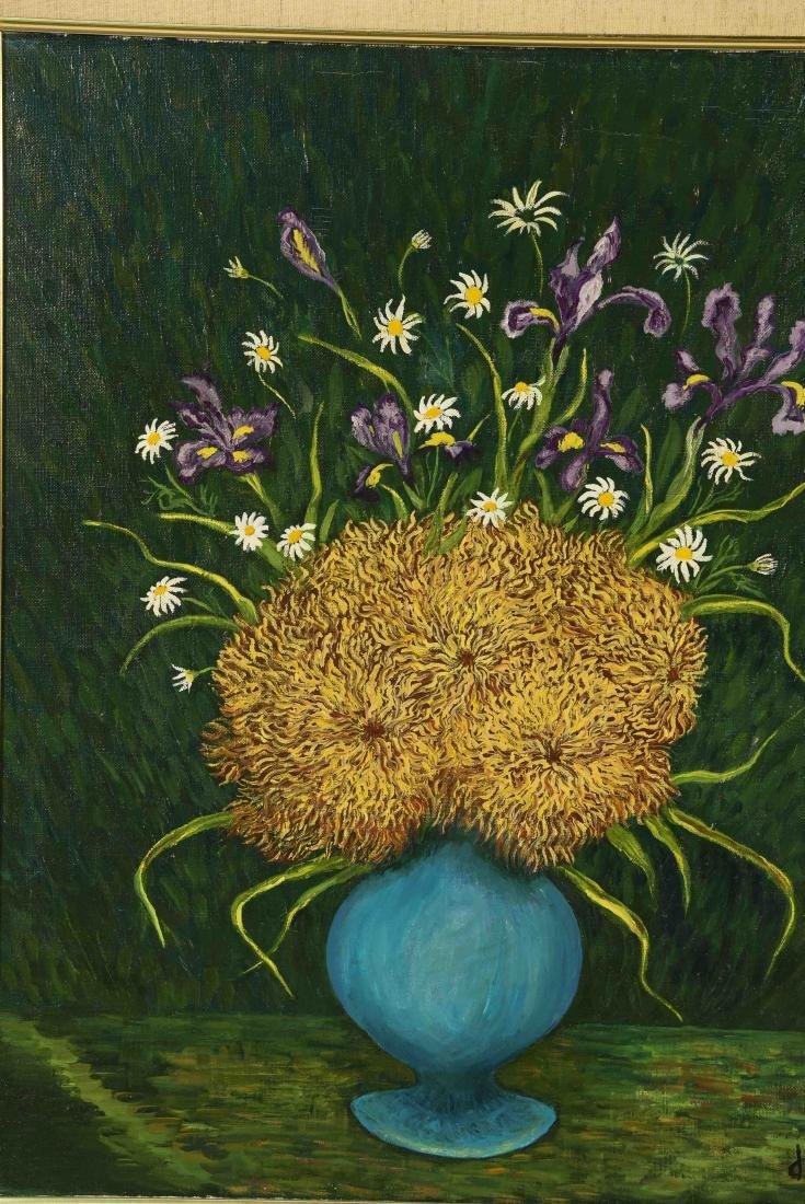 MYRIAM JAFE O/C FLOWERS - 2