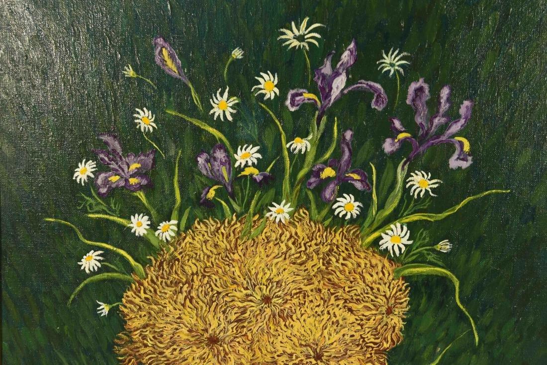 MYRIAM JAFE O/C FLOWERS - 5