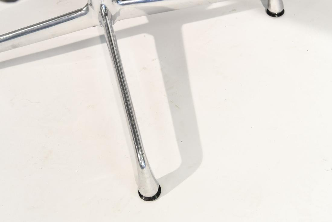 (4) EAMES ALUMINUM GROUP ARM CHAIRS - 5