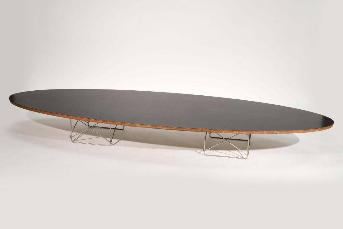 EAMES ELLIPTICAL SURFBOARD COFFEE TABLE