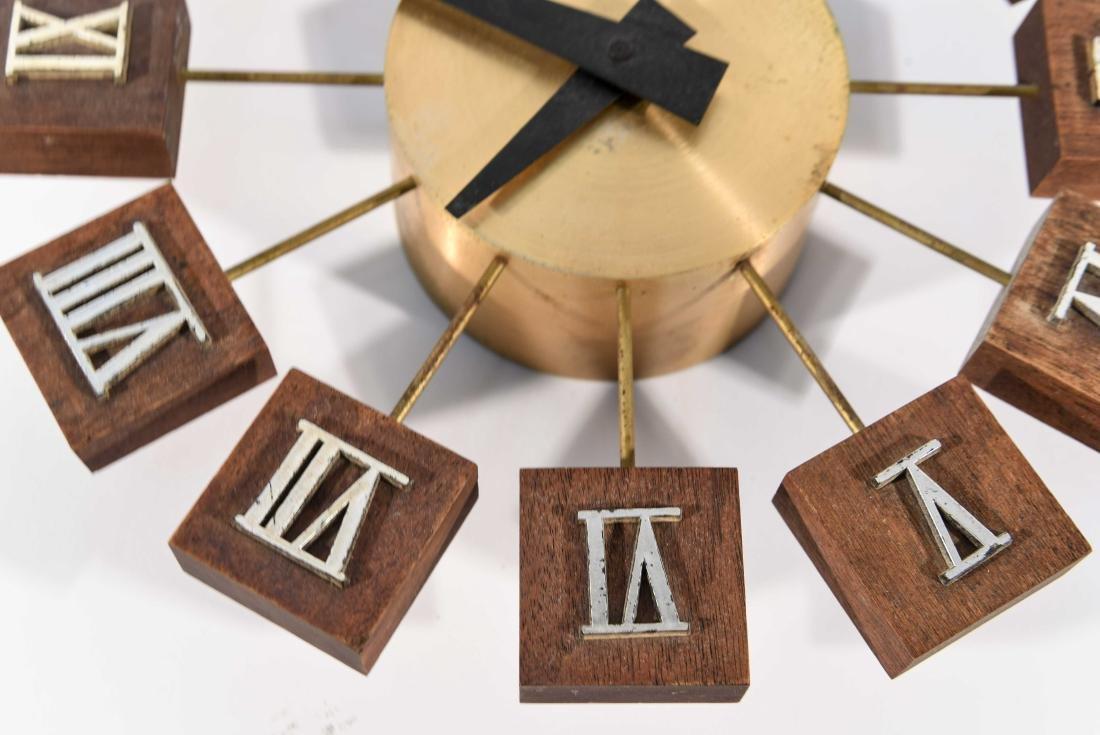 MID-CENTURY WALL CLOCK - 5
