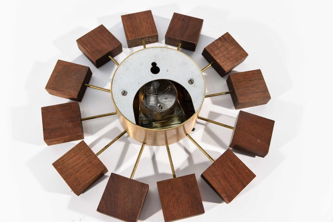 MID-CENTURY WALL CLOCK - 8