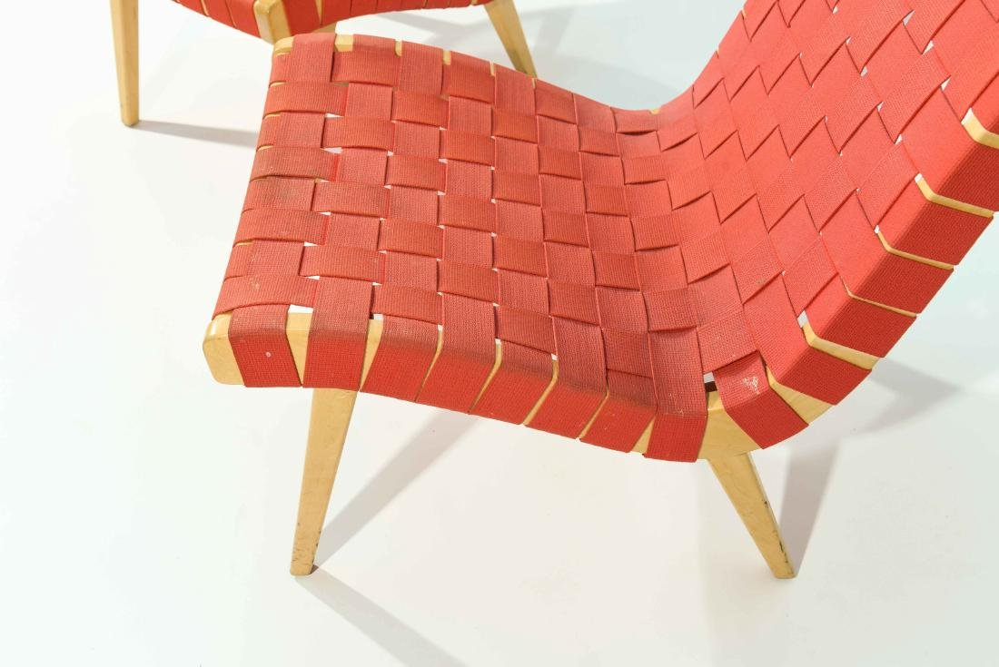 PAIR OF JENS RISOM LOUNGE CHAIRS - 6
