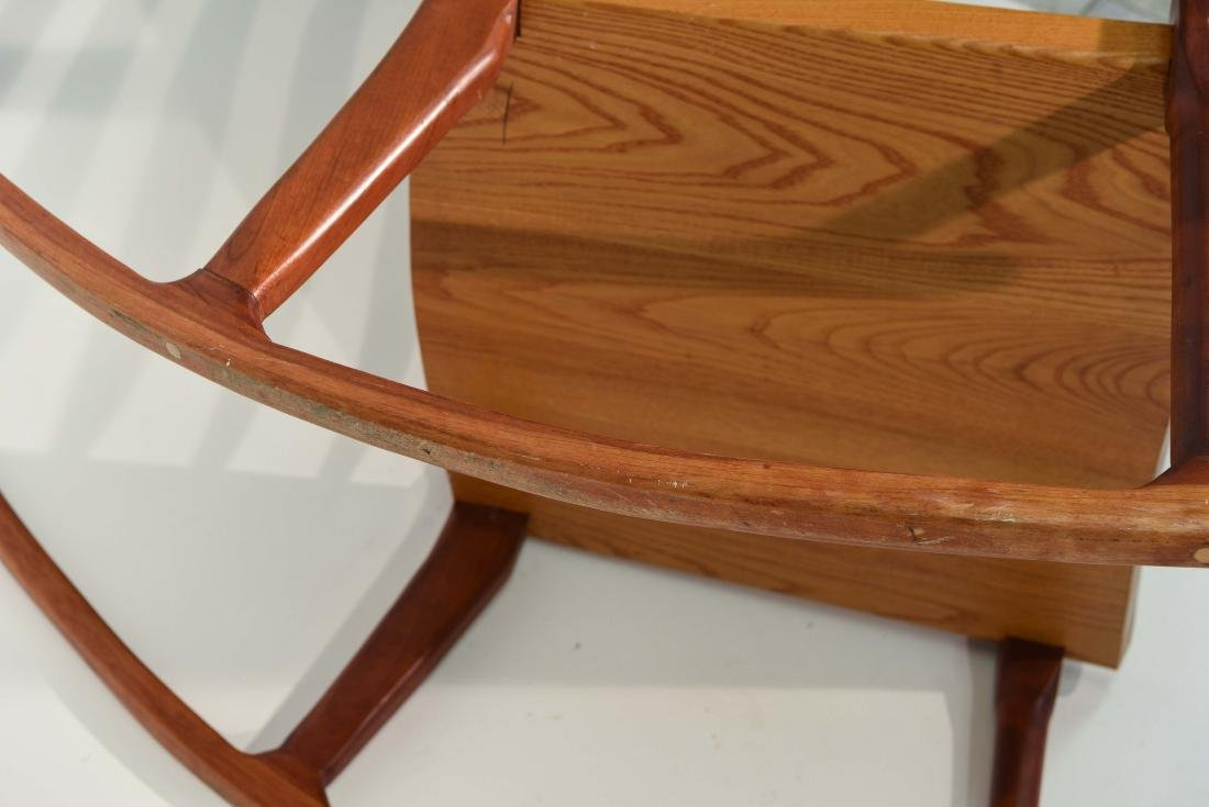 VINTAGE BENCH MADE ROCKING CHAIR - 10