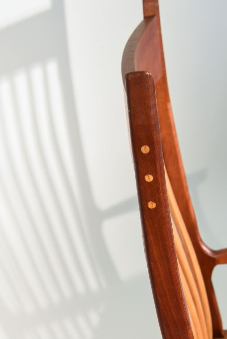 VINTAGE BENCH MADE ROCKING CHAIR - 6