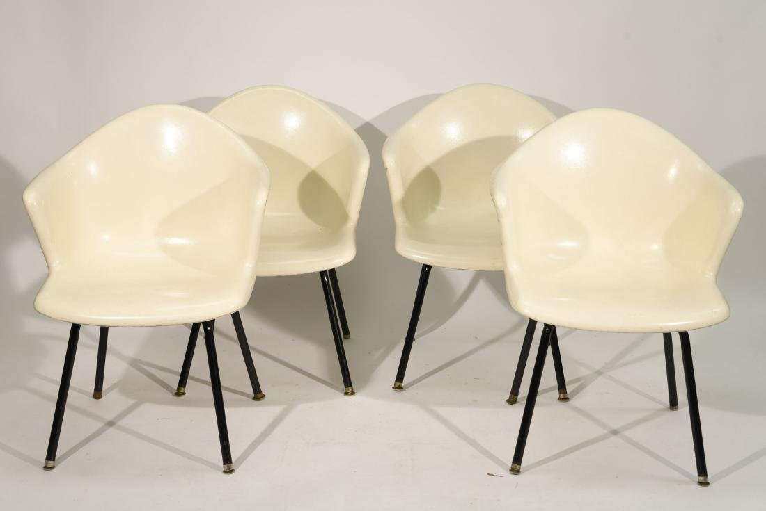 (4) EAMES HERMAN MILLER CHAIRS