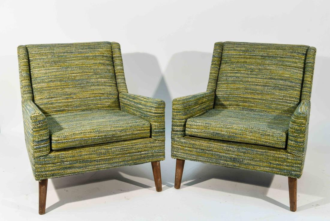 PAIR OF STYLE OF EDWARD WORMLEY STYLE CHAIRS