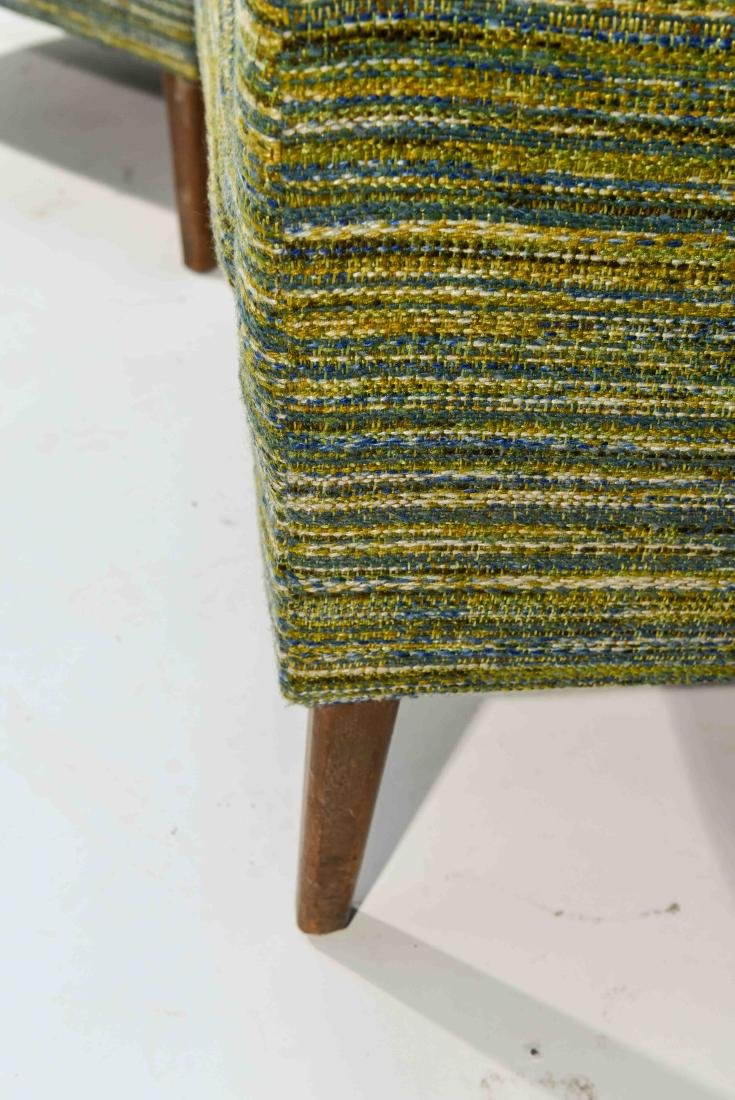 PAIR OF STYLE OF EDWARD WORMLEY STYLE CHAIRS - 4