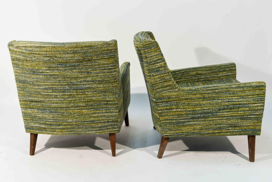 PAIR OF STYLE OF EDWARD WORMLEY STYLE CHAIRS - 7