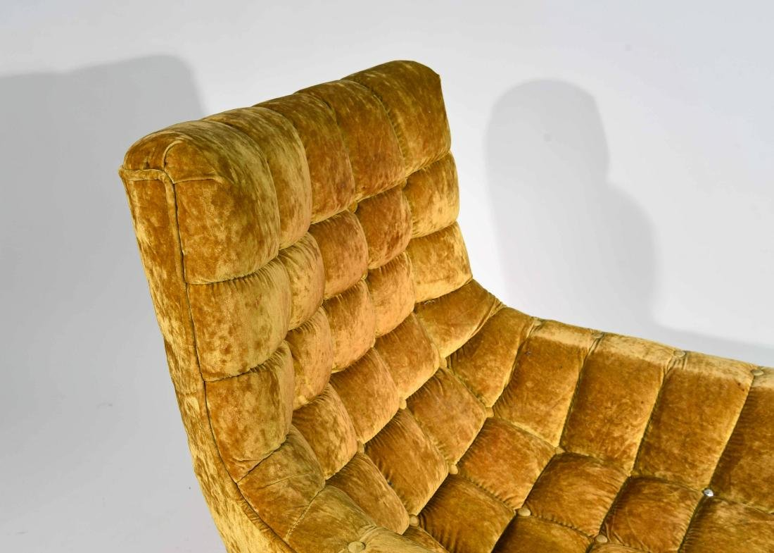 (2) HOLLYWOOD REGENCY STYLE LOUNGE CHAIRS - 4