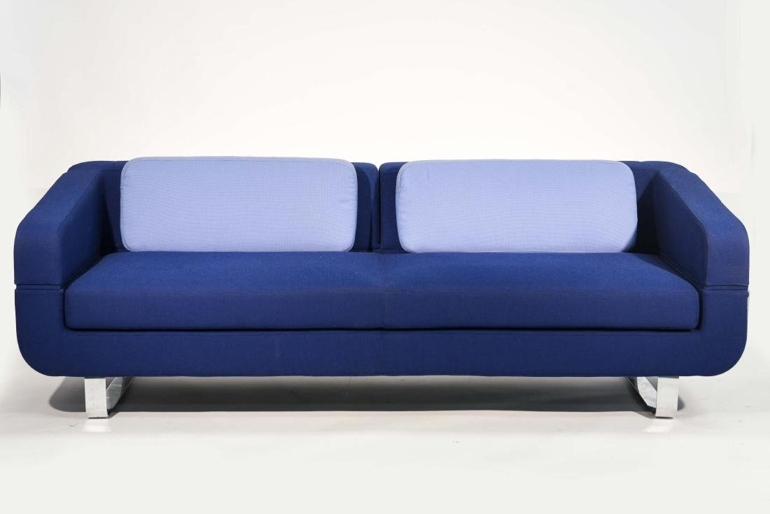 ESTEL BLUE UPHOLSTERED SOFA
