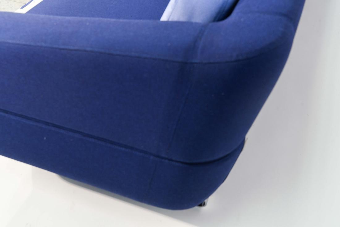 ESTEL BLUE UPHOLSTERED SOFA - 7
