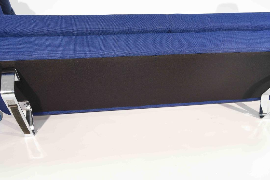 ESTEL BLUE UPHOLSTERED SOFA - 9