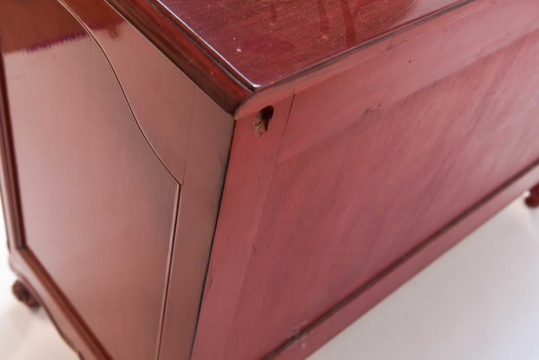 LOUIS XV STYLE LACQUERED COMMODE - 6