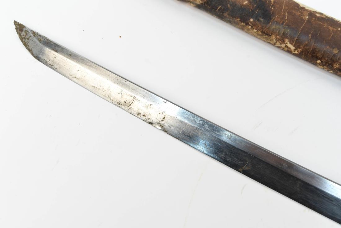 JAPANESE SAMURAI SWORD W/ SIGNED HANDLE - 5