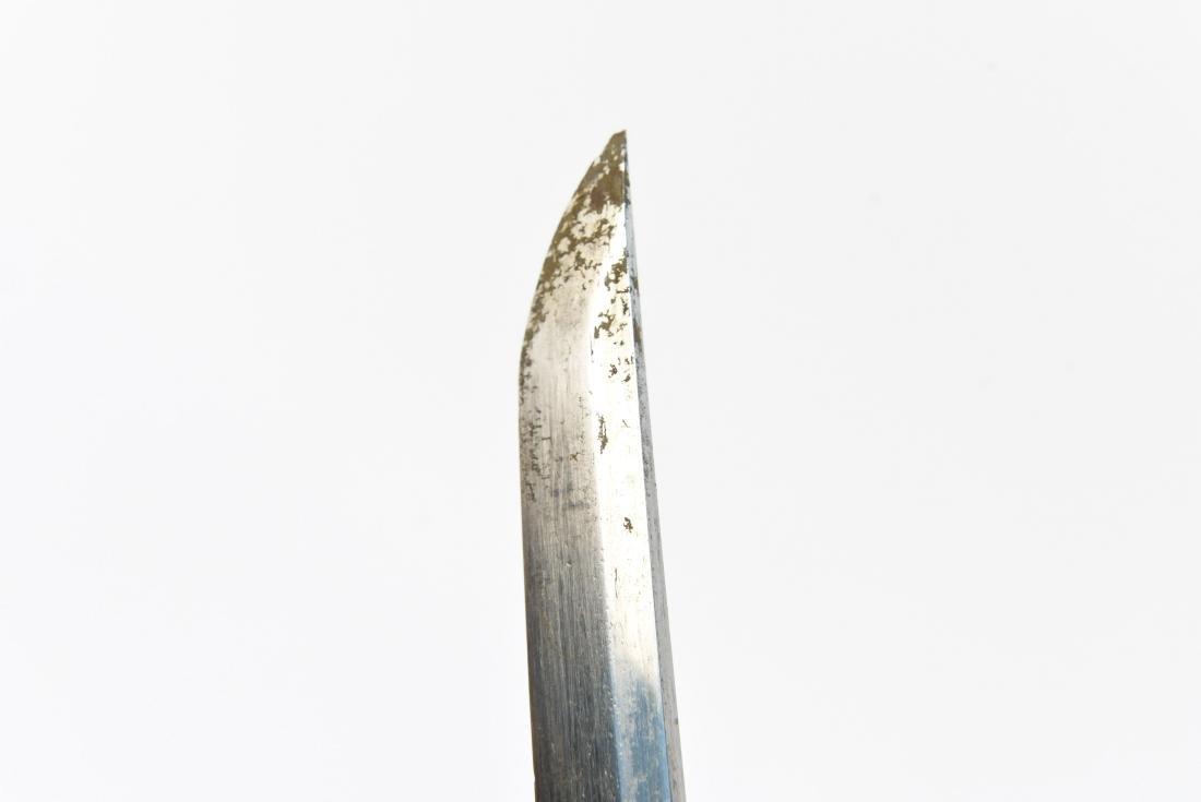JAPANESE SAMURAI SWORD W/ SIGNED HANDLE - 9